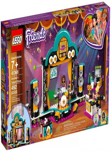 Lego LEGO Friends Andreas Talent Show Renkli